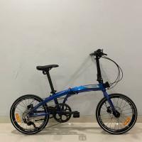 Sepeda Lipat Element Ecosmo 9 Bunglon Special Edition