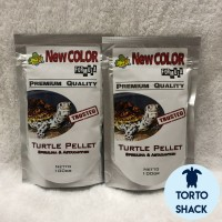 JKK Color Formula 100 Gram | Pelet Makanan Kura Kura Air Turtle Warna