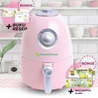 HOME & HOME Air Fryer - Alat Goreng & Memasak Tanpa Minyak - Compact