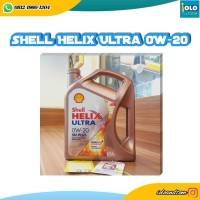 SHELL HELIX ULTRA SN PLUS 0W-20 4 LITER FULLY SYNTHETIC MOTOR OIL