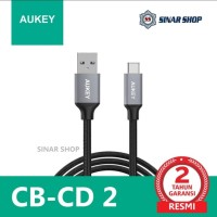 Aukey CB-CD2 Cable 1M Braided USB A 3.0 To USB-C
