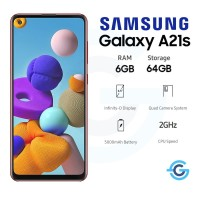 Samsung Galaxy A21s 6/64 GB 6GB 64GB Garansi Resmi SEIN