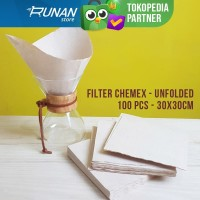 Kertas Filter Chemex Paper Filter 100 pcs 30cm Filter Kopi Besar