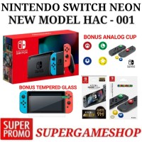 Nintendo Switch Console Neon New Model HAC-001(-01)