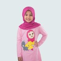 Nussa - Dafiya Kaos Anak (Lengan Panjang)