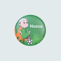 Nussa - Nussa Bola Pin