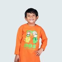 Nussa - Naz Kaos Anak (Lengan Panjang) Orange