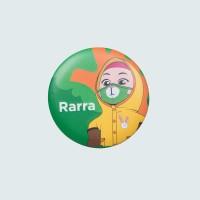 Nussa - Rarra Mask Pin