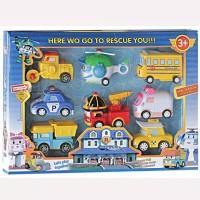 Mainan anak ROBOCAR POLI isi 8 pcs kode 9A