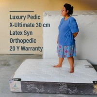 Kasur Busa Latex syn SET Luxury Pedic-Ult 120x200x30 orthopedic 20 th