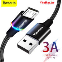 KABEL DATA LED BASEUS HALO FAST CHARGING MICRO USB