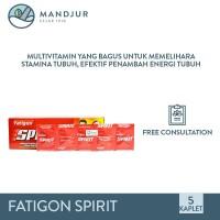 Fatigon Spirit - Multivitamin Penambah Energi dan Stamina Tubuh