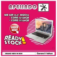 NEW Apple MacBook Air 2017 MQD32 13.3 Core i5,8G,128SSD - Silver