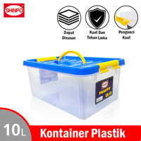 SHINPO Kontainer Plastik 10L Practy Container Box LockSeal SPO-SIP-129