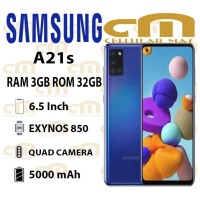 Samsung Galaxy A21s 3/32 RAM 3GB ROM 32GB GARANSI RESMI SEIN