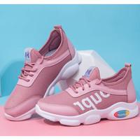 Promo Sepatu Wanita / Sneakers Wanita / Sepatu Wanita / Fashion Wanita - Merah Muda, 37