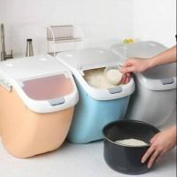 Tempat Beras/Rice Box Plastik Tebal ( Import ) 6 Liter