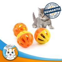 Rattle Ball / Bola Kerincingan Mainan Kucing Anjing / Cat Dog Pet Toy