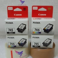 1 Paket Tinta Printer Canon PG -745 & CL -746 Original
