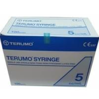Terumo Syringe 5CC with Needle isi 100 units/sirynge isi 100 pcs