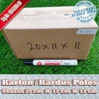 KARDUS BARU POLOS DI PEKANBARU   20x11x11cm