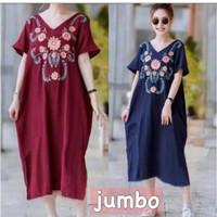 dress jumbo murah/terusan ukuran jumbo/kaos jumbo