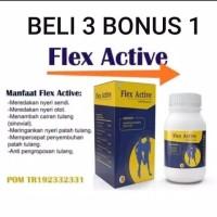 flexactive Flex Active Original Herbal Resmi Bpom Obat Persendian