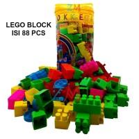Block Mainan Edukasi Anak - Multicolor [102 pcs]