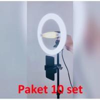 10 SET Paket Ringlight 20Watt ORANGE 4 in 1 ( 10 SET )