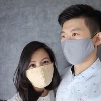 Masker Kain Katun 3 PLY GRADE A Full Cotton anti Debu Bakteri Earloop