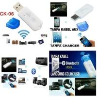 USB bluetooth receiver CK-06 tanpa kabel penyambung bluetooth
