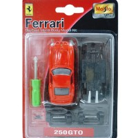Diecast Maisto 19000-3 inch Ferrari Model Kits 1:64 Assorted - 250 GTO