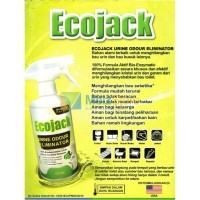 EcoJack Penghilang Bau URINE ODOUR ELIMINATOR HIJAU 250ml