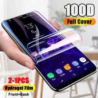 HYDROGEL LG Q6 ANTI GORES DEPAN BELAKANG PROTECTOR COVER - CLEAR