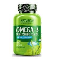 NATURELO PREMIUM OMEGA 3 FISH OIL 1100 MG 60 SOFTGEL ORIGINAL