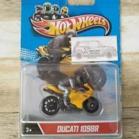 hot wheels motor Ducati 1098R card jelek