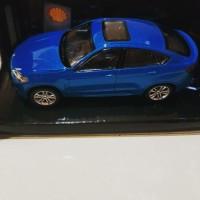 Diecast miniatur mobil BMW X6 M Shell