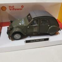 Diecast miniatur mobil Citroen 2CV (1952)