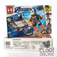 Mainan Lego Building Block Avanger Heroes Asseble