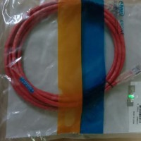 CO155D2-07F007 Pacthcord, Cat 5e, UTP, CM, Red, 7FT