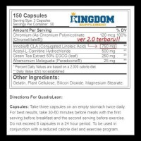 Suplemen Fitness RSP Quadralean Quadra lean 150caps Fat Burner CLA