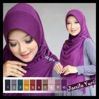 Jilbab Instan kerudung Hijab Syari Bergo Jamila - Hijau Tosca TERBARU