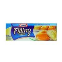 Kraft Filling Cheese 2 kg - Keju Cheddar isian tanpa perlu diparut