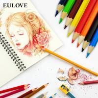 Eulove 12pcs/set Krayon Warna Warni Variasi Untuk Sekolah/Kantor