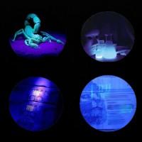Senter Sinar Blacklight UV Ultra Violet 9 LED Tidak Terlihat