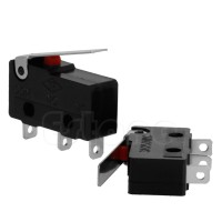 2 Pcs 3A AC C + No + NC Micro Sensor Switch Arm Lever subbus Tuas