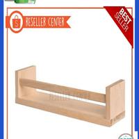 Dijual IKEA BEKVAM Rak Bumbu Kayu Brich Solid Limited