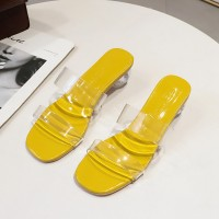 FELICELIFE Sandal Wanita dengan Tali Transparan Anti Slip Model