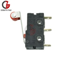 10Pcs kw12-3 Micro Roller Lever Arm Normally Open Close Switch