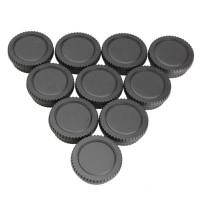 10 Set Tutup Lensa Belakang dengan Penutup Tubuh Kamera Untuk Canon